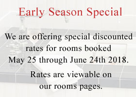 2018 Early Season Special Offer