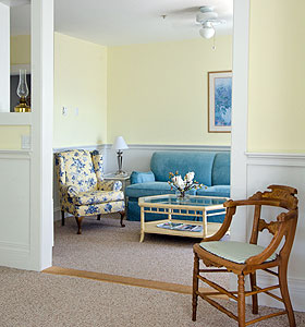 Relax in Maine at the Castine Inn.